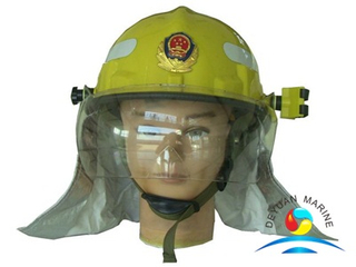 Fire Helmet With Torch Light