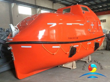 SOLAS 5M Totally Enclosed Lifeboat And Rescue Boat Complete with Davit and Certification