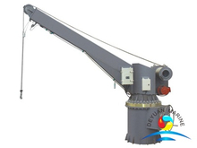 SOLAS Approved Marine 21KN Single Arm Davit For Rescue Boat