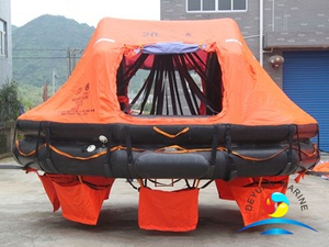 ABS Offshore ADL Type 20 Man Davit-launching Inflatable Life Raft