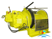 High Quality Marine Single Drum Type Pneumatic Winch