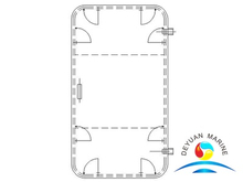 CY Type Marine Single-leaf Steel Weathertight Door