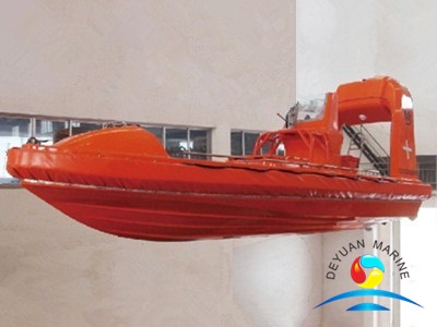 Rigid FRP Rescue Boat SOLAS Approved With Inboard Diesel Engine
